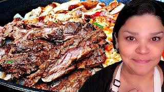 Easy Beef Fajitas Recipe   Beef and Chicken Fajitas Recipe   Easy Fajitas Recipe