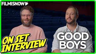 "GOOD BOYS | Gene Stupnitsky ""Director"" & Lee Eisenberg ""Writer"" On-set Interview"
