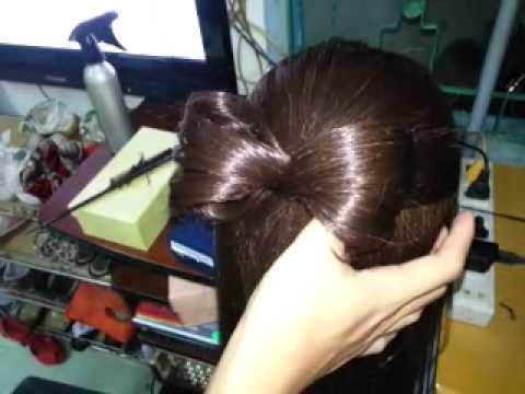 Tóc nơ đơn giản tự làm dành cho các bạn nữ^^