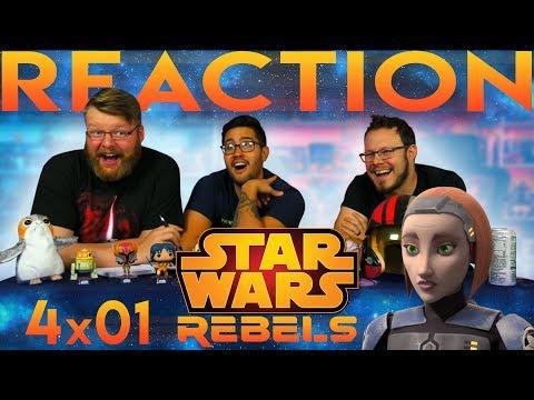 "Star Wars Rebels 4x1 REACTION!! ""Heroes of Mandalore Part 1"""