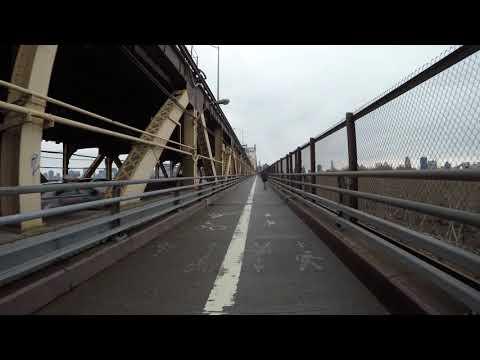 ⁴ᴷ Walking the Queensboro (59th Street) Bridge to Manhattan