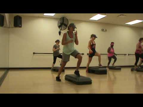 Step It Up! High intensity 60 minute cardio group fitness class!