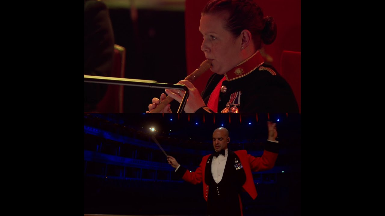The Good, The Bad and the Ugly | Conductor Cam | The Bands of HM Royal Marines