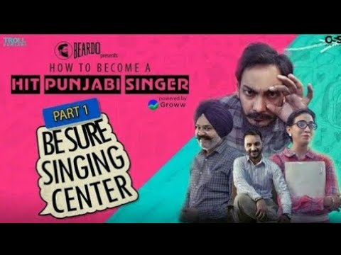 How To Become A Hit Punjabi Singer - Part 1 | Be Sure Singing Centre | Troll Punjabi