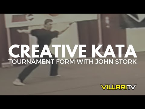 Shaolin Kempo Karate Black Belt Creative Kata