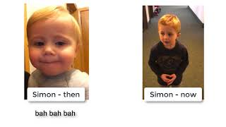 "Simon ""Then"" and ""Now"""
