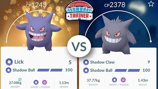 LICK for GENGAR... IS IT BETTER THAN SHADOW CLAW and WORTH RAIDING FOR in Pokemon GO