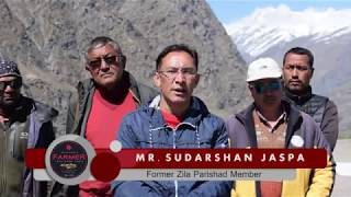 #lahauldisaster2018 | MR. SUDARSHAN JASPA ON LAHAUL DISASTER 2018 | Lets Grow Apple