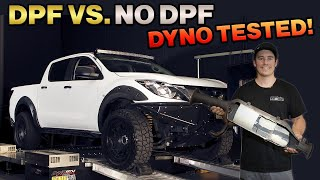 SHOULD YOU REMOVE YOUR DPF? How it affects power gains & fuel use - You won't believe the difference