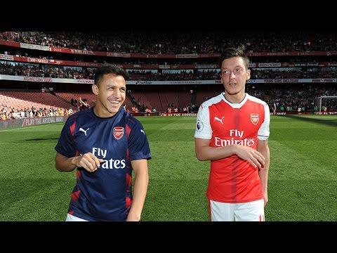 Arsenal's end-of-season lap of appreciation
