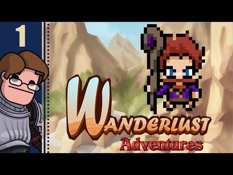 Let's Play Wanderlust Adventures Co-op Part 1 - Sorcerer & Warrior (feat. Wanderbot)