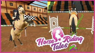 Riding Horse Tales #2 || Pierwsze zawody i lepszy sprzęt!
