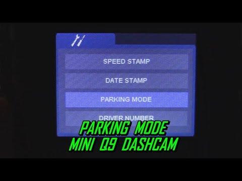 Parking Mode Mini Q9 Dash Cam