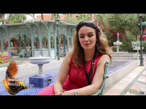 Sanaa Grirane, directrice Backstage de Caftan