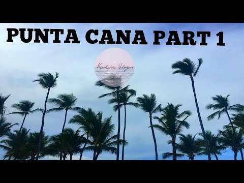 Punta Cana Part 1: Arrival/Resort Beach and Pool