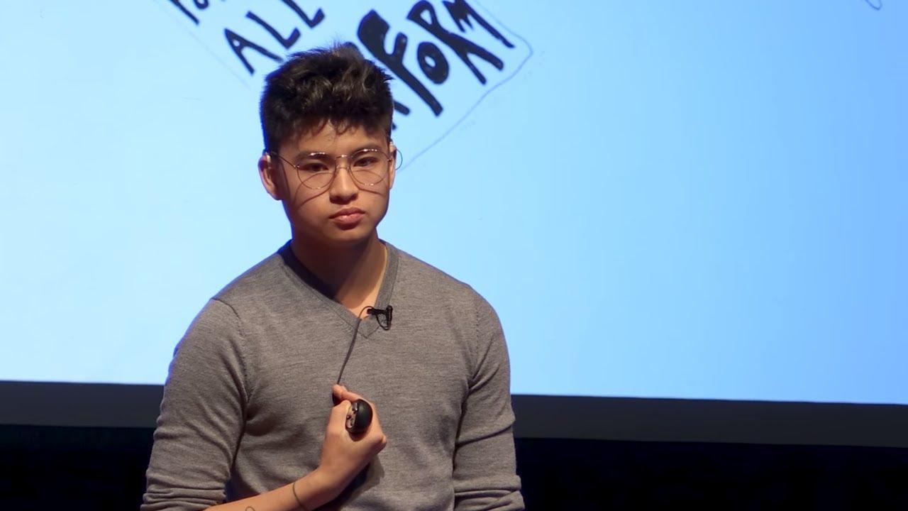 Becoming Him | Chella Man | TEDxRanneySchool - YouTube