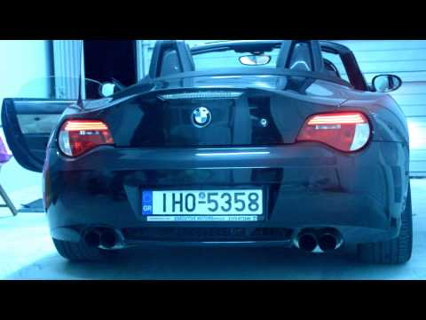 Bmw Z4 3 0i Exhaust Sound Youtube