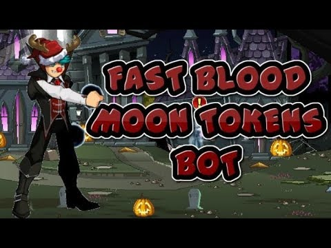 =AQW= Botting Series | *NEW* Extreme Fast Blood Moon Tokens Bot! [300/1h] |2018