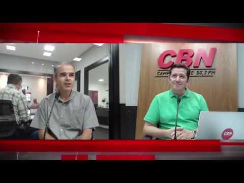 Entrevista CBN Campo Grande: Ercilio Diniz Flores, gerente de serviços comerciais da Energisa
