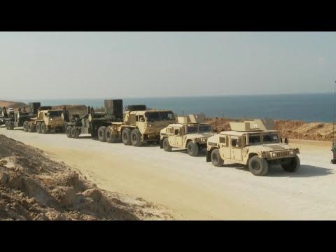 Humvee Convoy in Israel