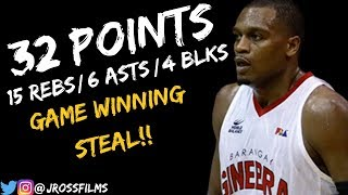 Justin Brownlee Full Highlights vs. Phoenix | 32 Points, 6 Asts, 4 Blks! (9/29/2018)