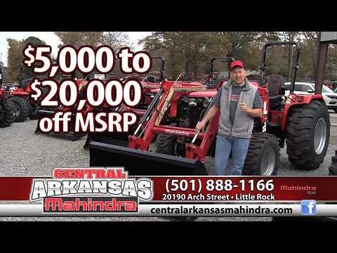 Central Arkansas Mahindra | Little Rock, AR | Outdoor Power