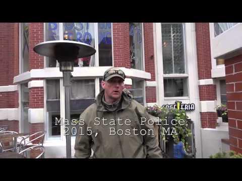 Honest trooper addresses militarization of police