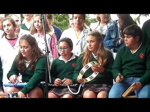 Feria Distrital del Libro-Coro Colegio Los Ceibos-Plaza Belgrano-Nueve de Julio