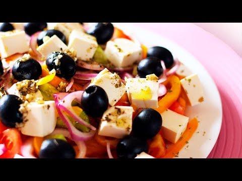 Как приготовить греческий салат? Классический рецептиз YouTube · Длительность: 1 мин10 с