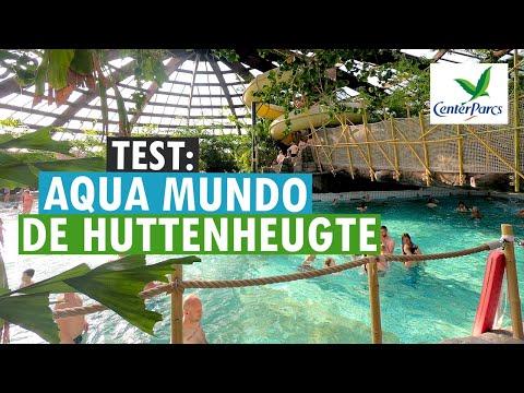 Aqua mundo zwembad van center parcs de huttenheugte