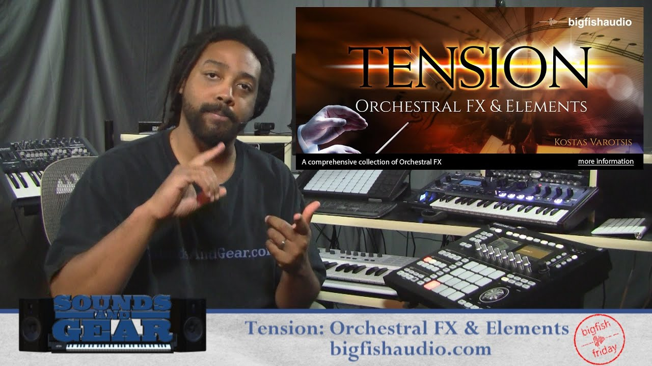 Big fish audio tension orchestral fx elements review for Big fish audio