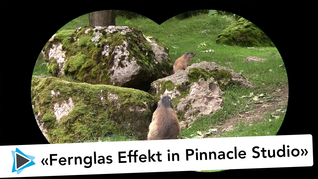 Fernglas effekt pinnacle studio deutsch video tutorial youtube