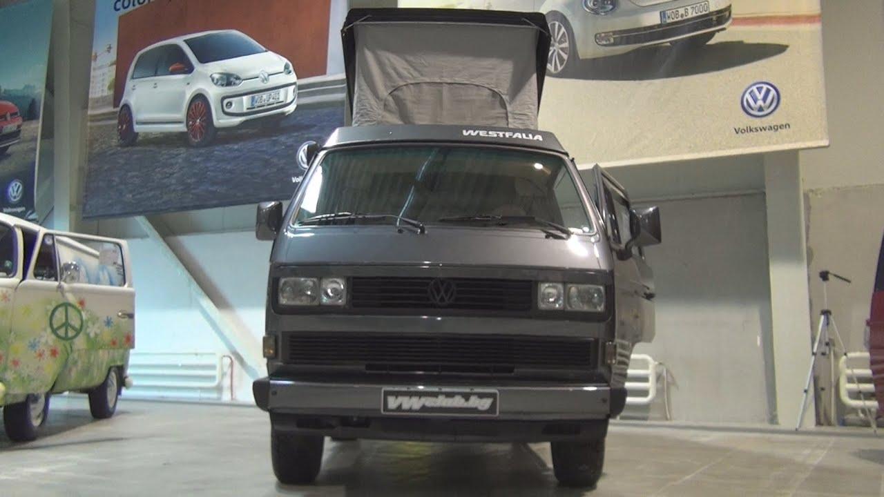 Volkswagen Transporter T3 Westfalia Dark Grey (1987) Exterior and ...