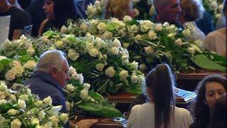 Gênes: début des funérailles d\'Etat pour les victimes du pont