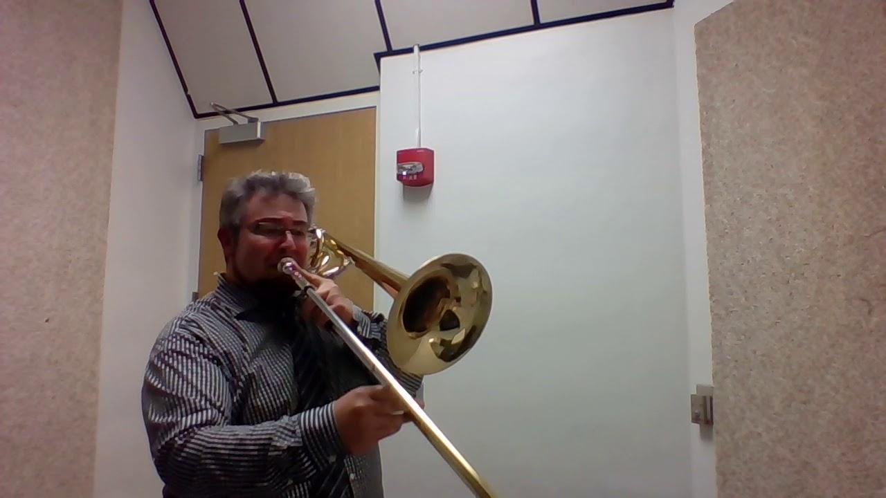 2018 7th Grade All-County Trombone Tutorial