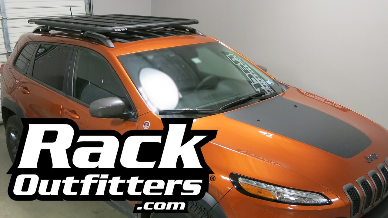 The Best Roof Rack Platform For Jeep Cherokee By Rhino Rack   YouTube