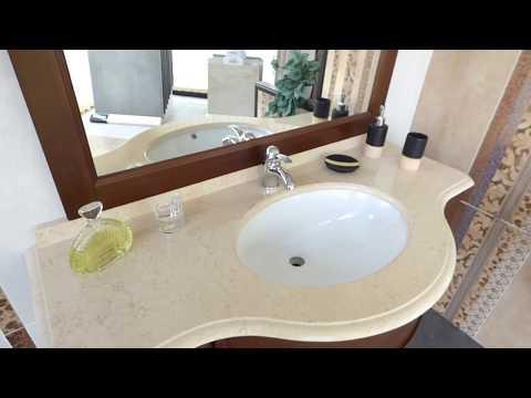 www.ceramicasud.it - Mobili Bagno lussuosi con top in marmo in vendita online