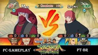 NARUTO SHIPPUDEN Ultimate Ninja STORM Revolution Han vs Sasori - PC Gameplay
