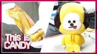 Download lagu 슈가슬라임으로 방탄소년단 지민의 BT21 치미 피규어 만들기 BTS JIMIN CHIMMY CANDY FIGURE BT21