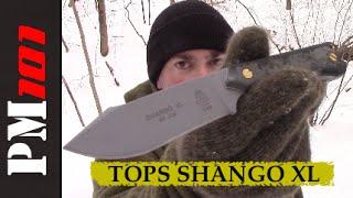 TOPS Shango XL: Stainless Steel Survival Super Scalpel!  - Preparedmind101