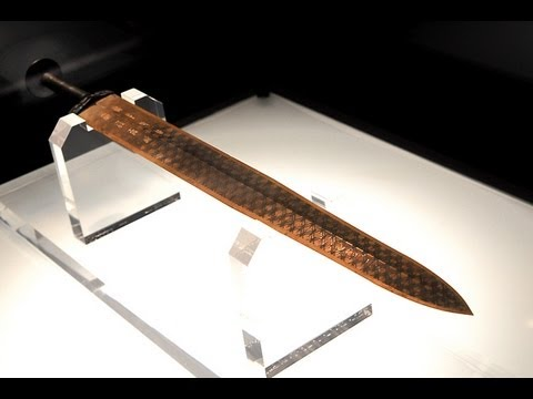 The Bronze Sword of Goujian, King of Yue State 越王勾踐劍 from YouTube · Duration:  5 minutes 27 seconds