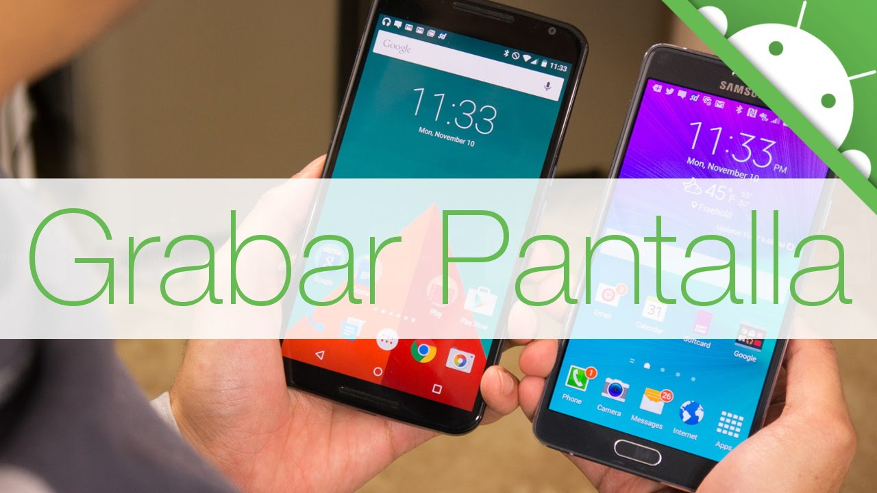 Grabar la Pantalla en Android SIN PC - YouTube