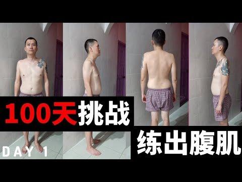 【100天挑戰練出腹肌】十分鐘腹肌训练 TABATA ABS WORKOUT 19/11/2019