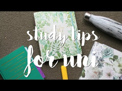 My Study Routine for Law School/University | Tips + Tricks