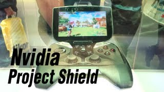 Nvidia Project Shield at CES13