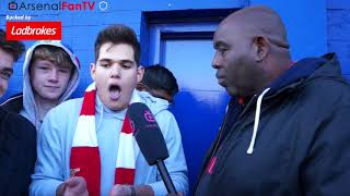 Everton 2-5 Arsenal | Give Wilshere A New Contract & Make Him Captain!!
