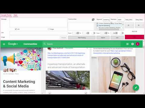 Google Plus Community AutoPost