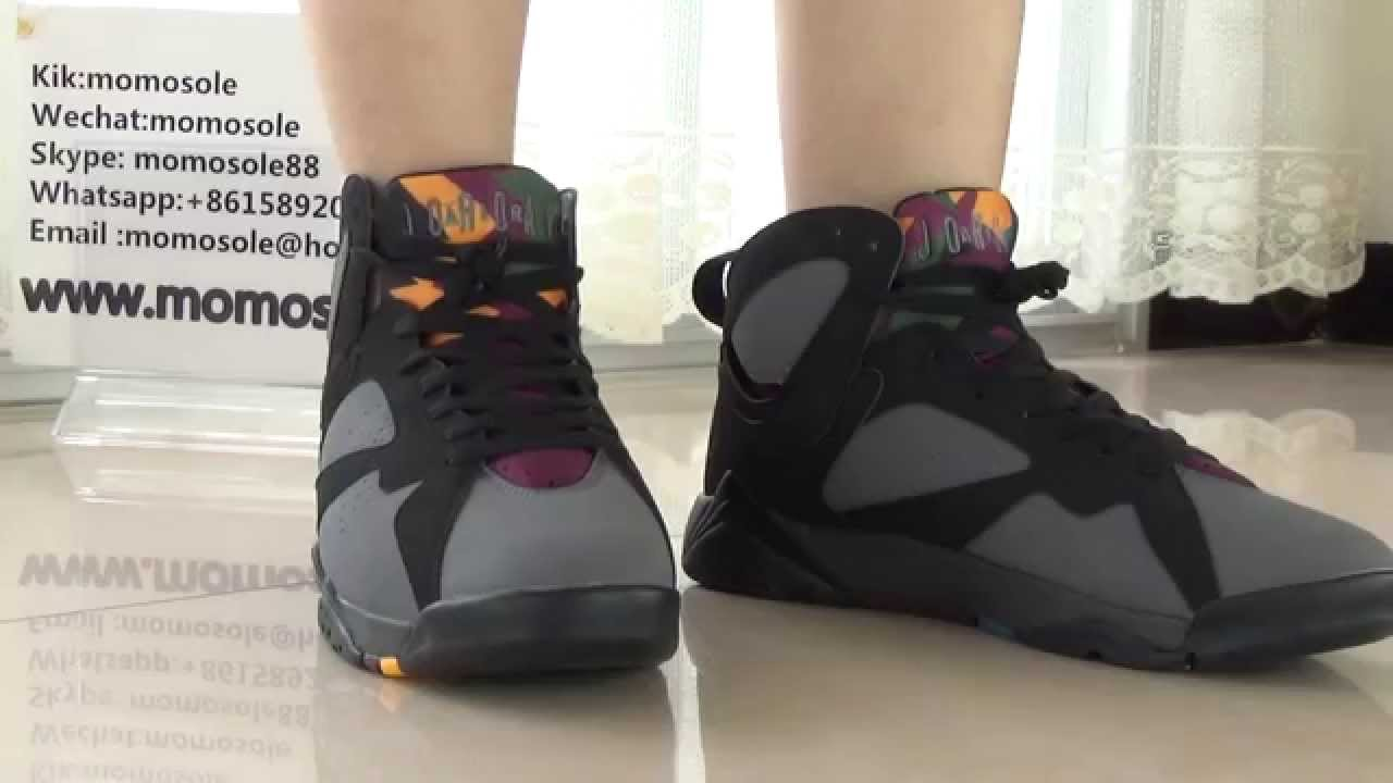 aadd12882c52 ... purchase authentic 2015 air jordan 7 bordeaux 2015 on foot from  momosole.cn youtube 71b2b ...
