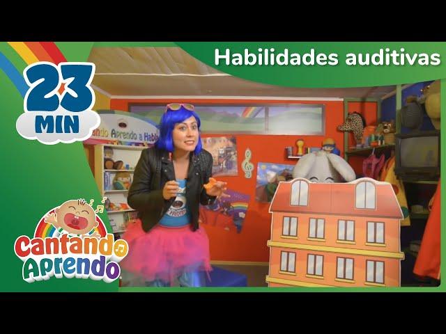 Aprende habilidades auditivas con Cantando Aprendo - Videos para niños y niñas
