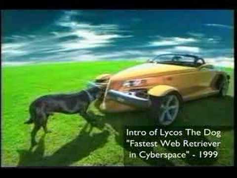 Original Lycos Dog Commercial - Go Get It